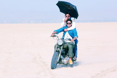 Gajendra Verma On Shoot