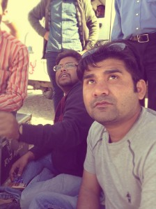 Vikram Singh On Location